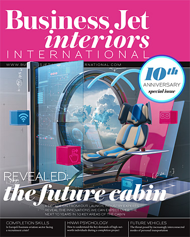 unique aircraft businessjetinteriorsinternational pages sept 2017